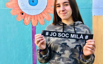 """""""Per mi, l'escriptura ha sigut una manera d'alliberar-me"""" Helena López, de 1r D"""