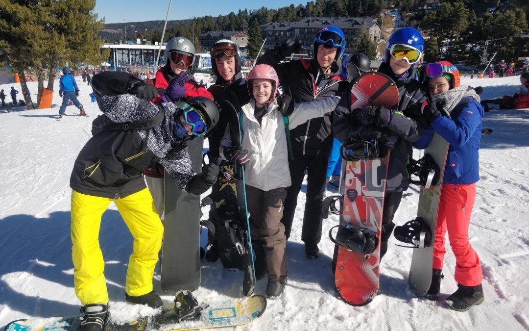 Esquiada!