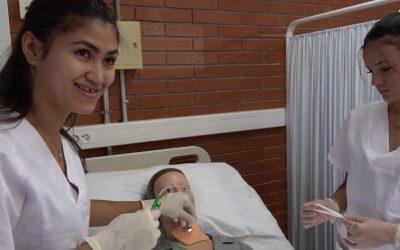 Reportatge CFGM Cures auxiliars d'infermeria