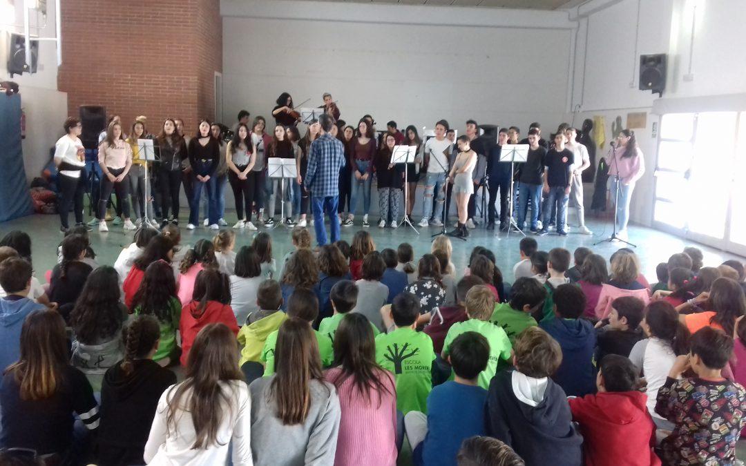 El Batxillerat escènic fa un concert a Vilobí