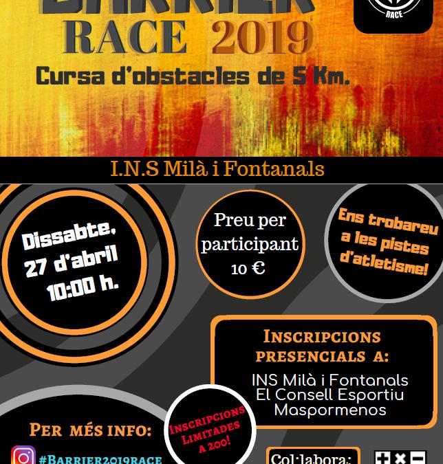 Barrier Race!