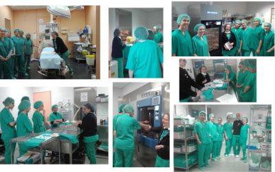 El CAI visita l'Hospital Comarcal del Vendrell