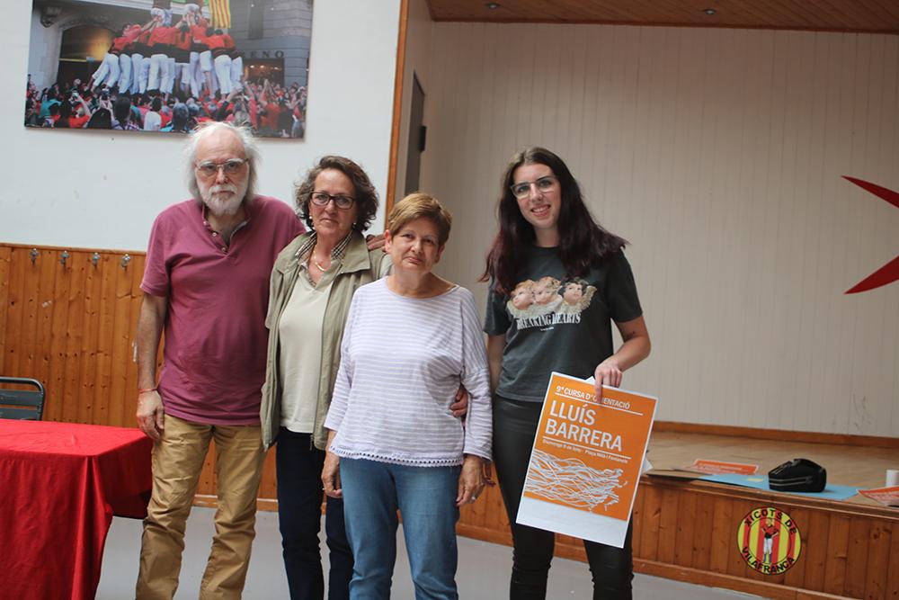 Sandra Florido, primer premi del disseny de cartells de la cursa d'orientació Lluís Barrera