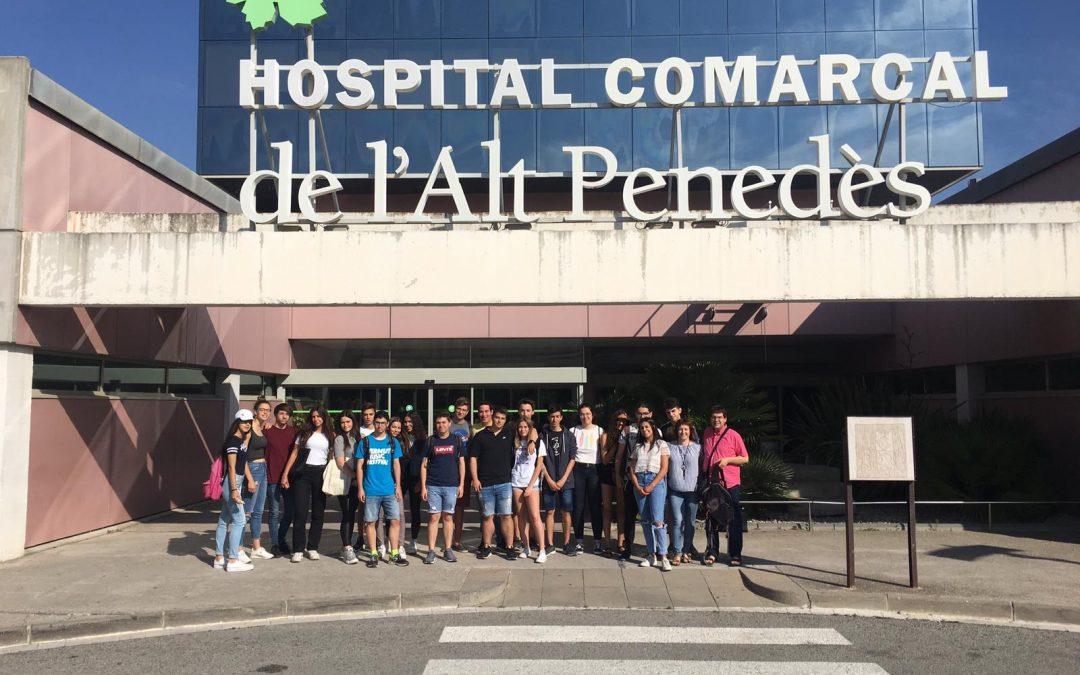 Visita a l'Hospital Comarcal