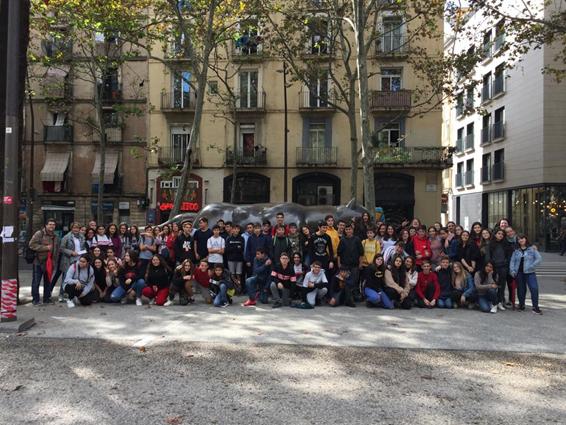 Sortida a Barcelona a l'Institut d'Estudis Catalans i al Mercat de la Boqueria