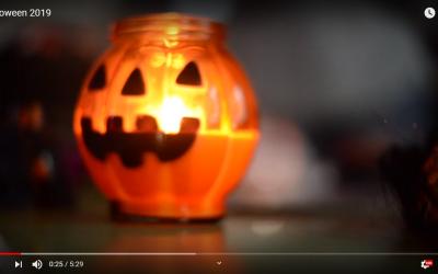 El vídeo amb les activitats de Halloween!