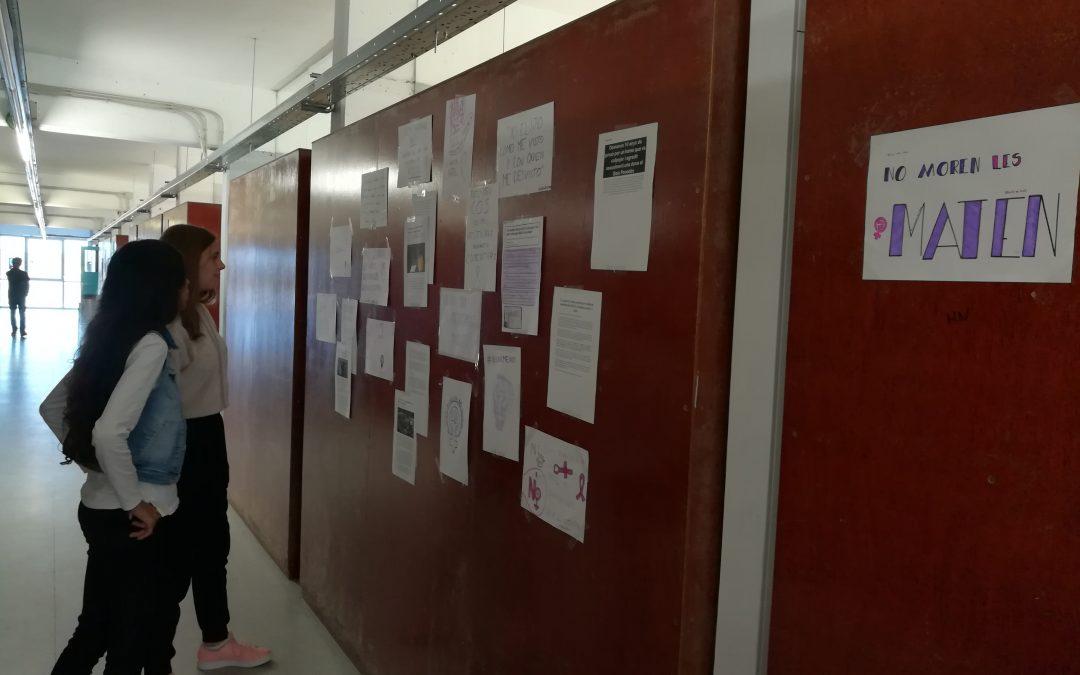 Els alumnes de 2n d'ESO treballen la violència de gènere