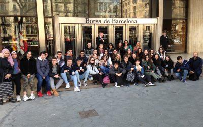 Visita a la seu del Banc d'Espanya i a la Borsa de Barcelona