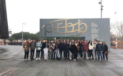 Visita al Parc de Recerca Biomèdica de Barcelona