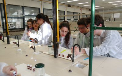 """Participem al programa """"Fem Química al laboratori"""" de la UB"""