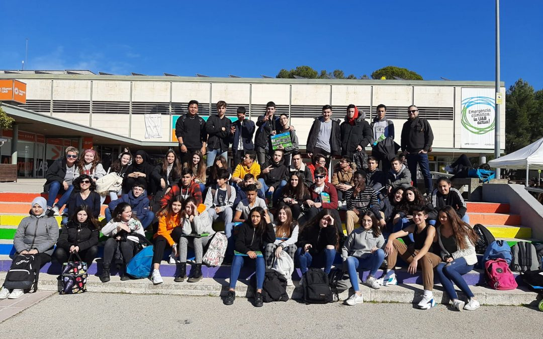 Els alumnes de 4t d'ESO visiten la UAB