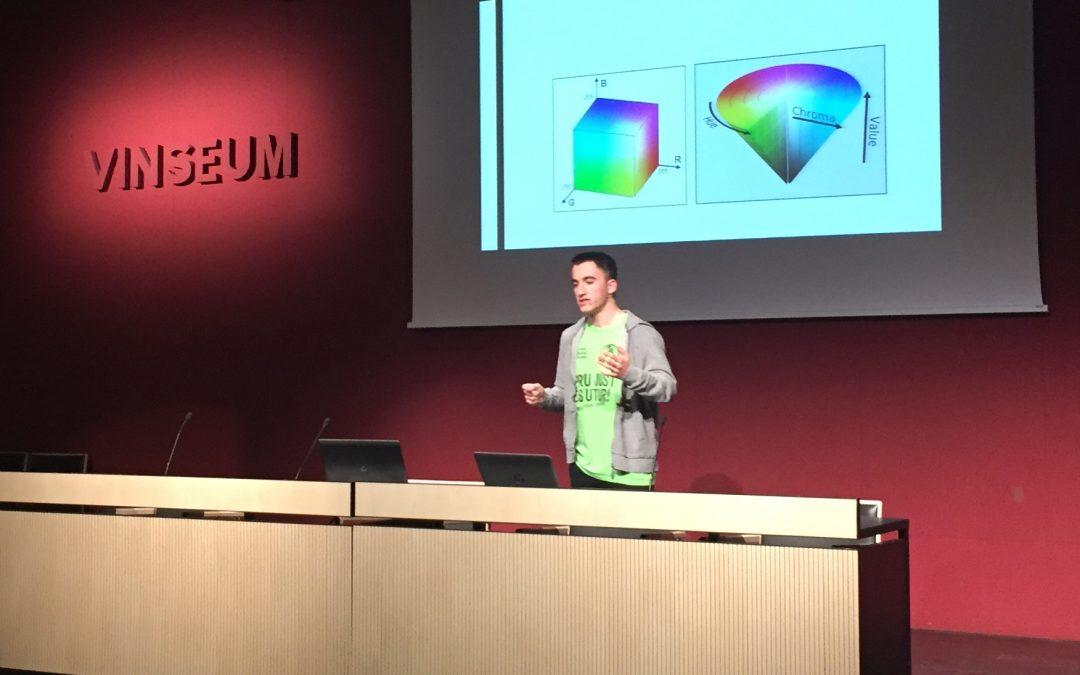 """Presentació del TREC """"Visió artificial"""" al Vinseum"""