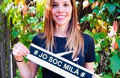 """""""He pogut convertir la meva passió en la meva professió"""". Personatge Laura Puértolas, professora d'educació física del Milà"""