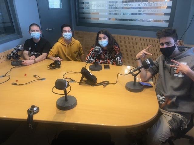 Gravem a Radio Vilafranca
