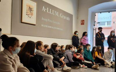 Exposició A-Llum amb 1r A