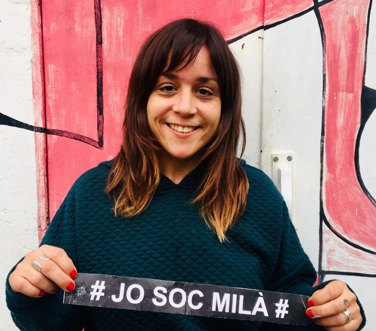 """""""Per fer bé la meva feina, cal crear un vincle amb els nois i noies"""". Personatge Montse Iglesias, educadora social i tècnica en integració social"""