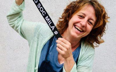 """""""Ser creatius ens permet ser emprenedors"""". Personatge Eva Sans, professora de dibuix al Milà"""