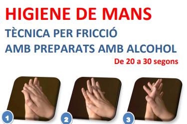 Campanya de rentat de mans 5 de maig de 2021